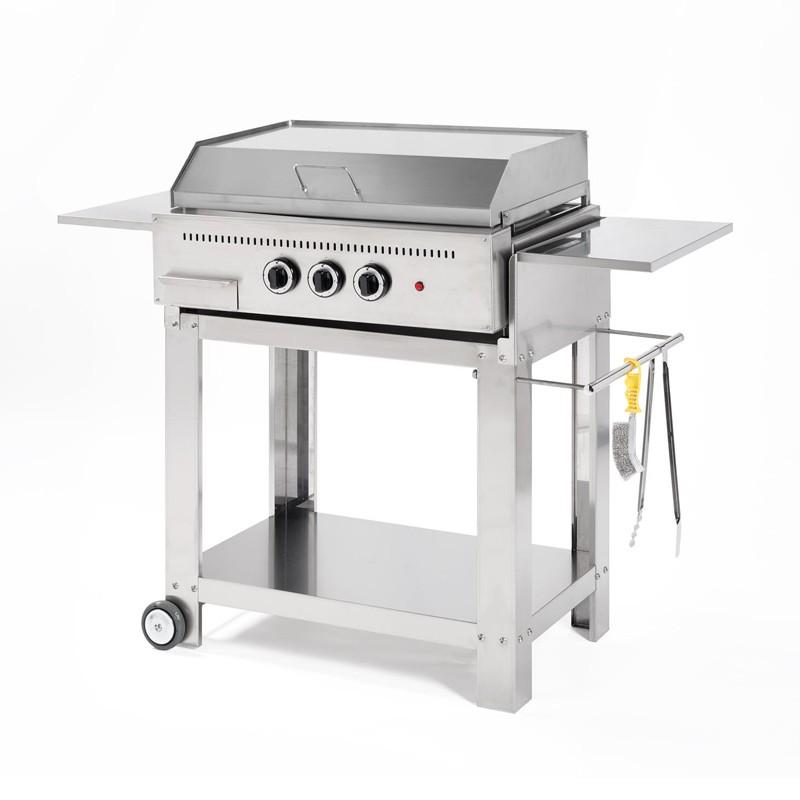 Barbecue a gas Professional piastra liscia