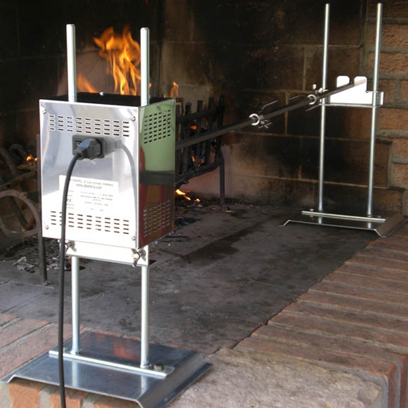 Spiedo in acciaio inox 304