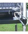 Caminetto Maxi con griglia regolabile